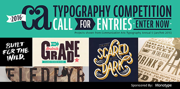 Thumbnail for: Communication Arts Typography Competition