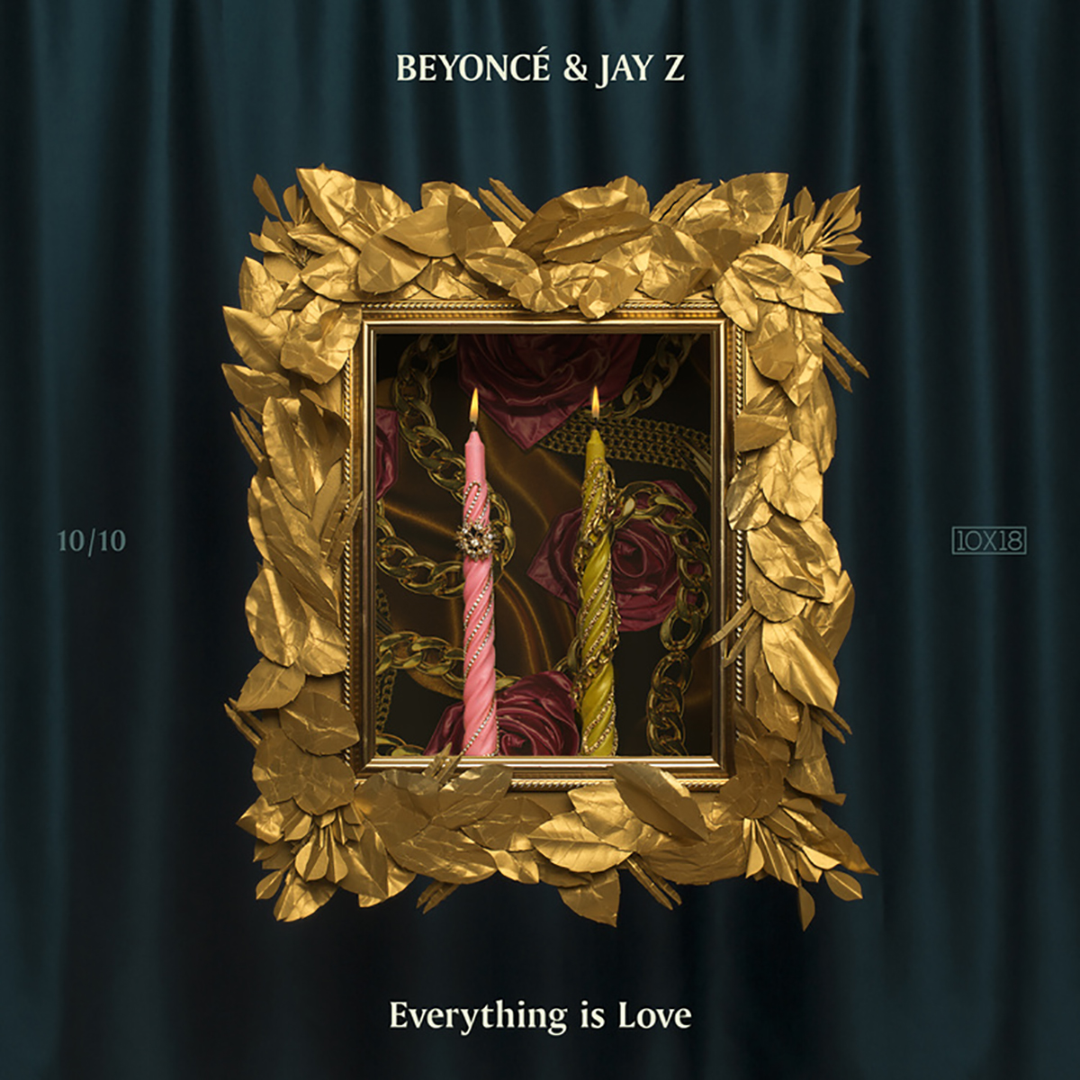 Beyonce and Jay Z album cover